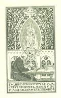 Ex libris Hospitium F.F. M.M. Capulatorum B. Mariae V. A Pompei Sacrum Barchinone (odkaz v elektronickém katalogu)