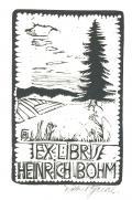 EX LIBRIS HEINRICH BÖHM (odkaz v elektronickém katalogu)
