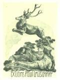 Ex libris Paul Leuschner (odkaz v elektronickém katalogu)
