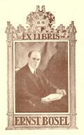 EX LIBRIS ERNST BÖSEL (odkaz v elektronickém katalogu)