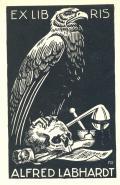 EX LIBRIS ALFRED LABHARDT (odkaz v elektronickém katalogu)