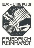 EX-LIBRIS FRIEDRICH REINHARDT (odkaz v elektronickém katalogu)