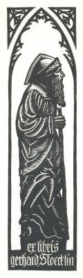 ex libris gerhard Stoecklin (odkaz v elektronickém katalogu)