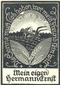 Mein eigen Hermann Ernst (odkaz v elektronickém katalogu)