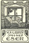 EX LIBRIS JOH.NEP. ESER (odkaz v elektronickém katalogu)