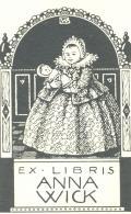 EX LIBRIS ANNA WICK (odkaz v elektronickém katalogu)