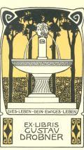EX LIBRIS GUSTAV DROBNER (odkaz v elektronickém katalogu)