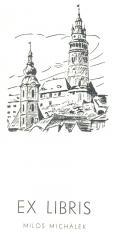 EX LIBRIS MILOŠ MICHÁLEK (odkaz v elektronickém katalogu)