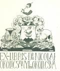 EX-LIBRIS Dr. NICOLAI OKOLICSÁNYI DE OKOLICSNA (odkaz v elektronickém katalogu)