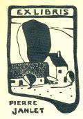 EXLIBRIS PIERRE JANLET (odkaz v elektronickém katalogu)
