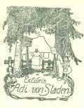 Exlibris Adi von Staden (odkaz v elektronickém katalogu)