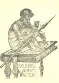 EXLIBRIS WILHELM WALTER (odkaz v elektronickém katalogu)