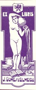 EX LIBRIS J. GOMES d´ALMEIDA (odkaz v elektronickém katalogu)