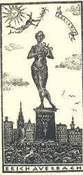 EXLIBRIS ERICH AUERBACH (odkaz v elektronickém katalogu)