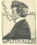 EX LIBRIS WALTER KLEIN (odkaz v elektronickém katalogu)