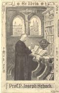 Ex libris Prof.P.Joseph Srhork (odkaz v elektronickém katalogu)