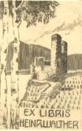 EX LIBRIS HEINR. WALTHER (odkaz v elektronickém katalogu)