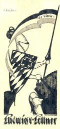 Ex Libris Ludwig v. Lottner (odkaz v elektronickém katalogu)