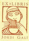 EX LIBRIS JORDI GALÍ (odkaz v elektronickém katalogu)
