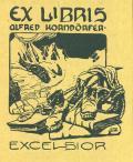 EX LIBRIS ALFRÉD KORNDÖRFER (odkaz v elektronickém katalogu)