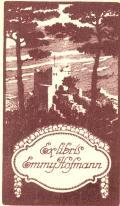 Exlibris Emmy Hofmann (odkaz v elektronickém katalogu)