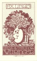 EX LIBRIS HILDA & THEODOR WÜRINGER (odkaz v elektronickém katalogu)