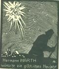 Hermann HARTH wünscht ein glückliches Neujahr (odkaz v elektronickém katalogu)