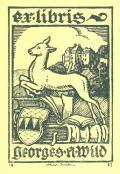 ex libris Georges A. Wild (odkaz v elektronickém katalogu)