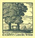 Exlibris: Linette Willin (odkaz v elektronickém katalogu)