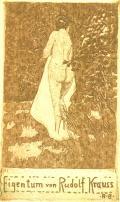 Eigentum von Rudolf Krauss (odkaz v elektronickém katalogu)