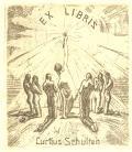 EX LIBRIS Curtius Schulten (odkaz v elektronickém katalogu)