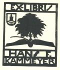 EX-LIBRIS HANS F. KAMMEYER (odkaz v elektronickém katalogu)