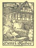 Exlibris Henri Kieber (odkaz v elektronickém katalogu)
