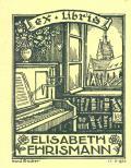 ex libris ELISABETH EHRISMANN (odkaz v elektronickém katalogu)