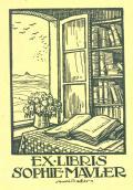 EX LIBRIS SOPHIE MAULER (odkaz v elektronickém katalogu)