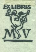EX LIBRIS MV (odkaz v elektronickém katalogu)