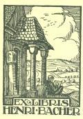 EXLIBRIS HENRI BACHER (odkaz v elektronickém katalogu)