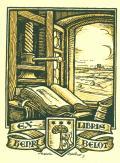 EX LIBRIS HENRI BELOT (odkaz v elektronickém katalogu)