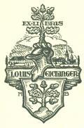 EXLIBRIS LOUIS EICHINGER (odkaz v elektronickém katalogu)
