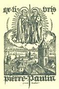 exlibris pierre paulin (odkaz v elektronickém katalogu)