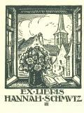 EX LIBRIS HANNAH SCHMUTZ (odkaz v elektronickém katalogu)