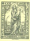 EX BIBLIOTHECA COLLEGII CAPELL ANORUM STE MARIE IN VALLE (odkaz v elektronickém katalogu)