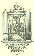 EX libris PASTORIS Eduardi Berron (odkaz v elektronickém katalogu)