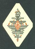 EXLIBRIS PASTORIS K.E.BERRON (odkaz v elektronickém katalogu)