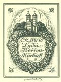 Ex libris Lydia Berron-Mürbach (odkaz v elektronickém katalogu)
