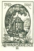 EXLIBRIS ALPHONSI BOESCH (odkaz v elektronickém katalogu)