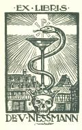 EX LIBRIS Dr V. NESSMANN (odkaz v elektronickém katalogu)