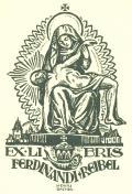 EX LIBRIS FERDINANDI REIBEL (odkaz v elektronickém katalogu)
