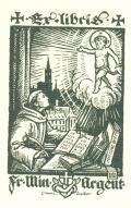 Ex libris Fr. Min. Argent. (odkaz v elektronickém katalogu)