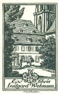 Ex libris Luitgard Wohmann (odkaz v elektronickém katalogu)